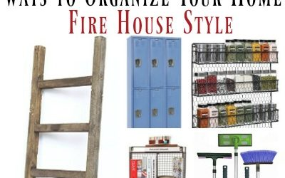12 Ways to Organize Your Home Fire House Style