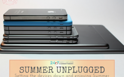 Step Away From Your Devices:  Your Summer Unplugged