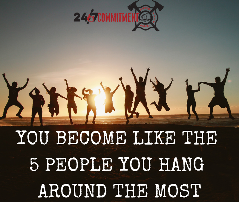 You Become Like the 5 People You Hang Around the Most
